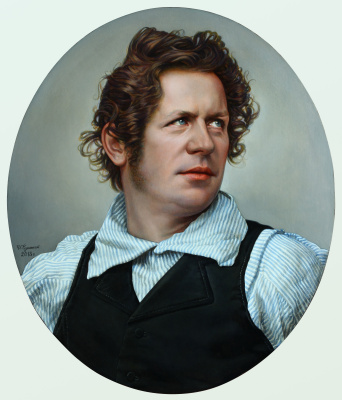 Sushienok64@mail.ru Михайлович Сушенок Игорь. Portrait of Karl Bryullov.