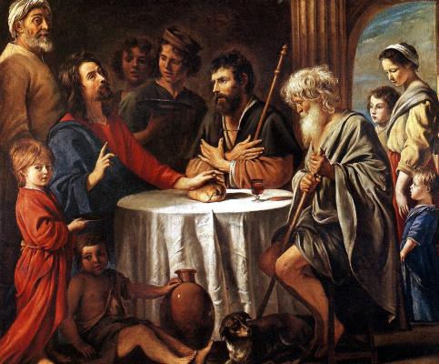 Антуан, Луи и Матье Ленен. Христос в Эммаусе