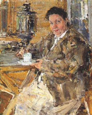 The artist's mother Praskovia Feshina