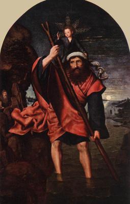 Квентин Массейс. Святой Христофор