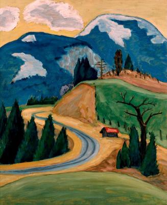Gabriele Münter. Winding road