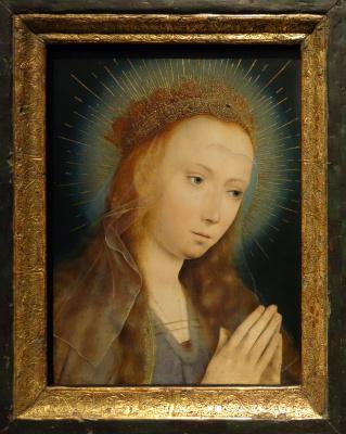 Quentin Masseys. Maria in prayer