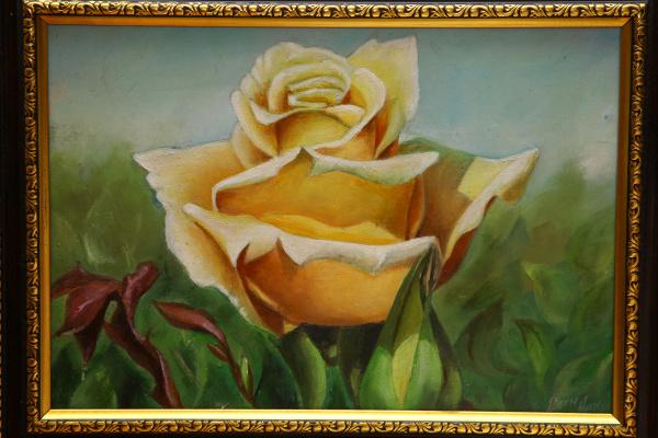Николай Николаевич Виноградов. Желтая роза