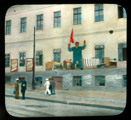 Historical photos. Advertising and agitation in Soviet Odessa