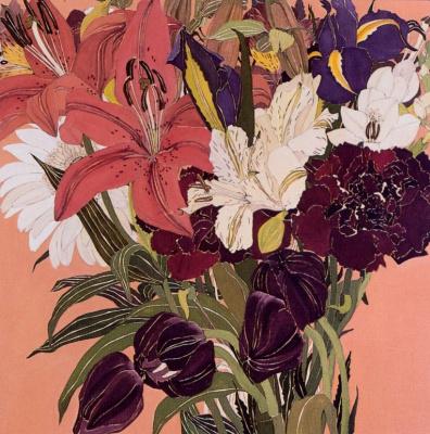 Хелен Лукас. Букет цветов