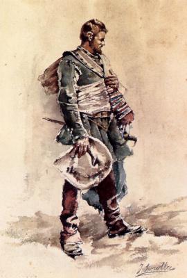 Хоакин Соролья (Соройя). Мушкетер