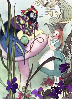 Marjorie Torrey. A meeting with caterpillar