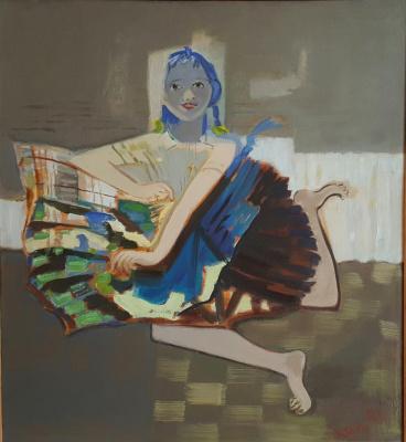 Victor Alexandrovich Skalkin. Little ballerina