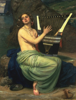 Edward John Poynter. Harp