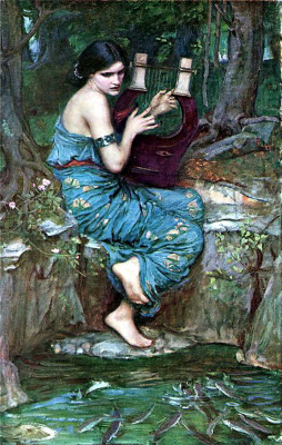 John William Waterhouse. Enchantress