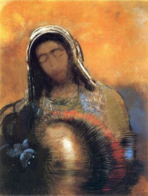 Odilon Redon. Sacred Heart