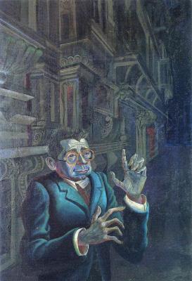 Otto Dix. Portrait of the artist Adolf Huzarski