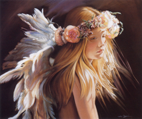 Nancy Noel. Angel art