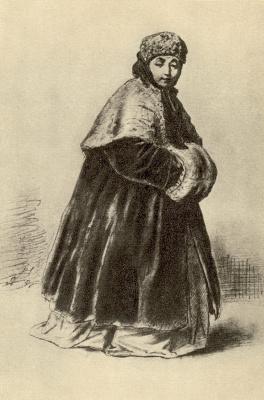 Василий Григорьевич Перов. Смущенная девушка
