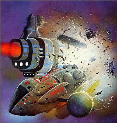 Боб Лаузелл. Космический корабль 12