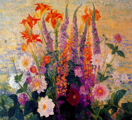 Эрменехильдо Англада Камараса. Цветы