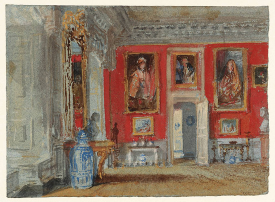 Joseph Mallord William Turner. The red room