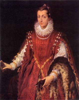 Sofonisba Anguissola. Noble lady