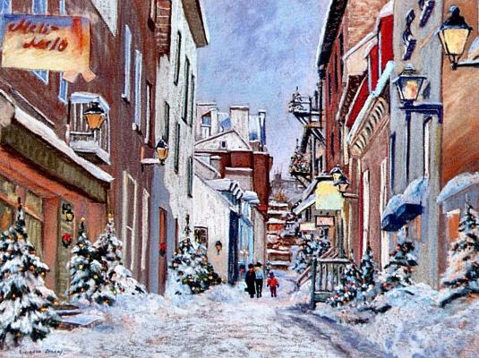 Люсьен Зеграу. Прошлой зимой в Старом Квебеке