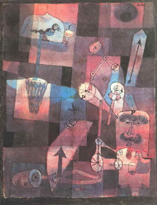 Paul Klee. Analysis of a variety of perversions