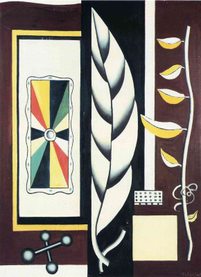Fernand Leger. Still life with sheet