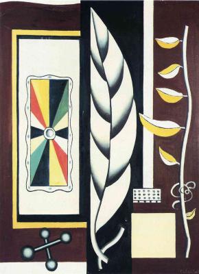 Fernand Leger. Still life with sheet