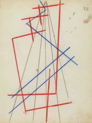 Love Sergeevna Popova. Space-force construction