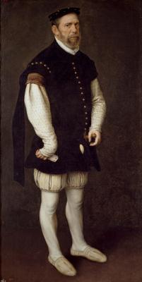 Антонис ван Дасхорст Мор. Перейон, Буффон граф Бенавенте и великий князь Альбы