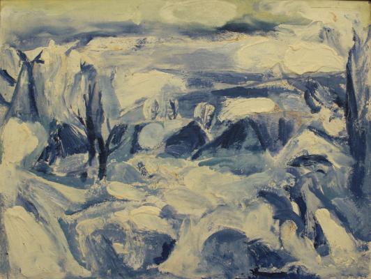 Victor Fedorovich Chudin. Winter