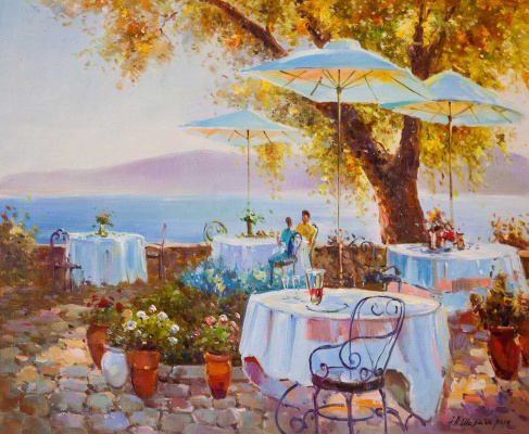 Andrey Sharabarin. Summer cafe