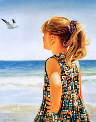 Мариз Пру. Птица в небе