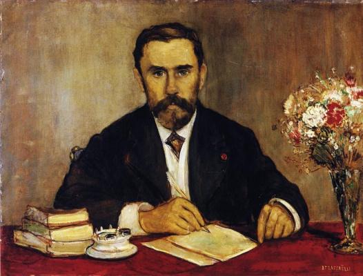 Жан-Франсуа Рафаэлли. Портрет Гюстава Жеффроя