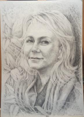 Natalia Moshina-Turusinova. Portrait