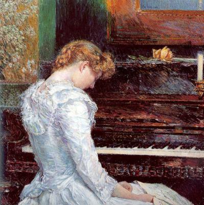 Childe Hassam. Sonata