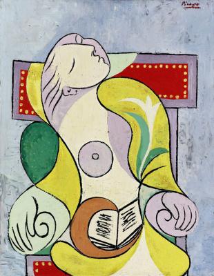 Pablo Picasso. Reading