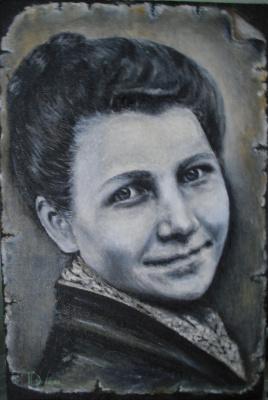 """Tatyana Mikhailovna Tevlina (Dronova). """"For memory"""""""