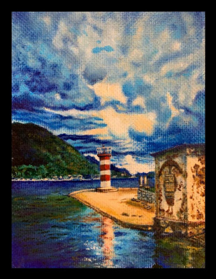 Dmitry Goncharov. Lighthouse