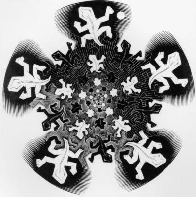 Maurits Cornelis Escher. Development II
