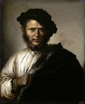 Salvatore Rose. Portrait of a man
