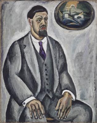 Петр Петрович Кончаловский. Автопортрет в сером