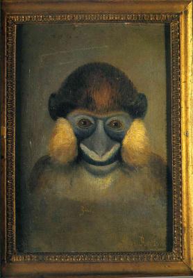 Henri Rousseau. Monkey