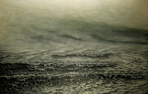 Valery Levchenko. No. 180 Mist over the sea