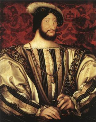 Жан Клуэ. Портрет Франсуа I короля Франции