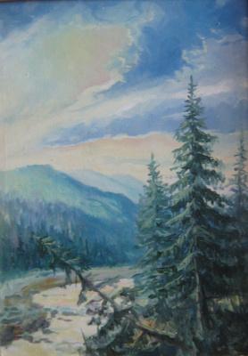 Gorge, Carpathian Mountains