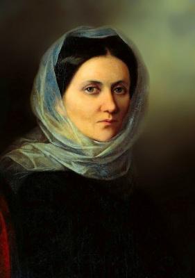 Яков Федорович Капков. Портрет сестры художника