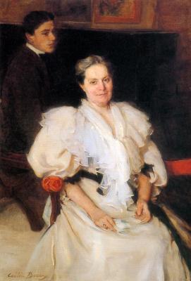 Сесилия Бо. Мать и сын