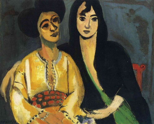 Henri Matisse. Aisha and Loretta