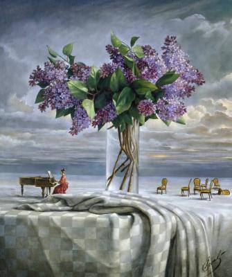 Mikhail Khokhlachov. Cloud of future spring
