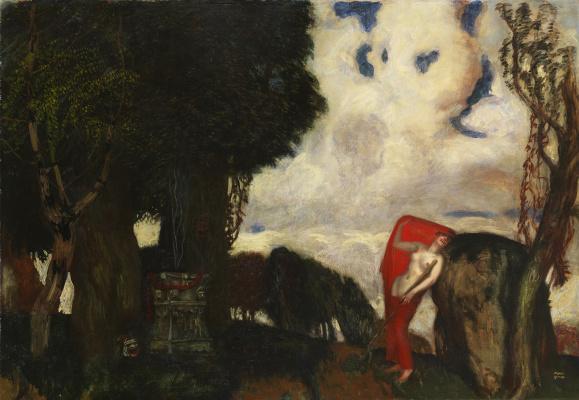Франц фон Штук. Ифигения в Тавриде. 1890-е