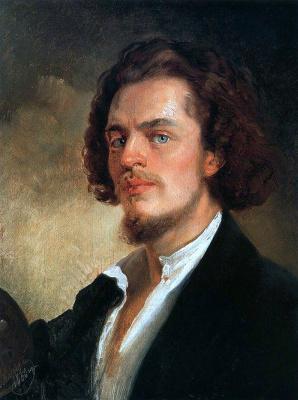 Konstantin Makovsky. Self-portrait